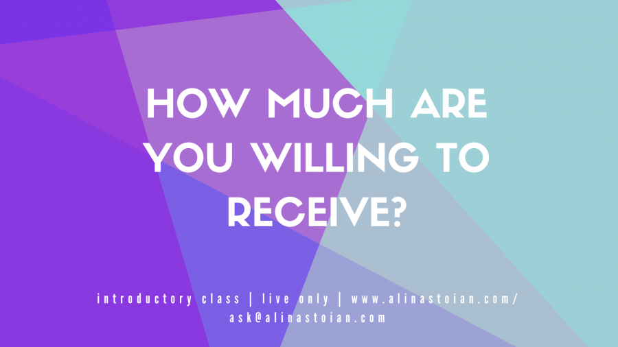 How Much Are You Willing to Receives